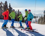 36 km of ski slopes open in 5 open ski areas